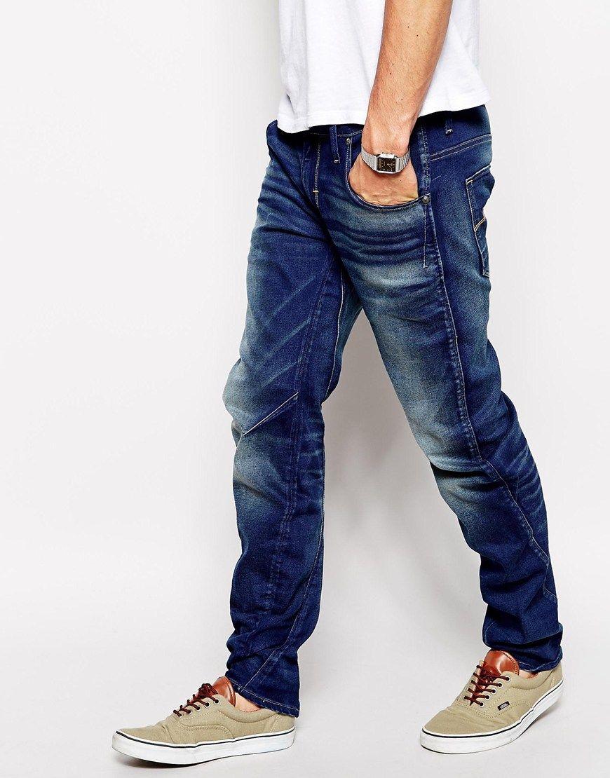 e5bf6afc97c6f G Star Jeans Arc 3d Slim Fit Firro Medium Aged Side   My G-Star RAW ...