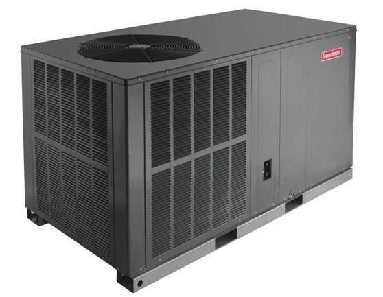 The Goodman Gph14h 14 Seer Packaged Heat Pump Provides Energy Efficient Cooling And Heating Perform Heat Pump Air Conditioner Heat Pump System Air Conditioner