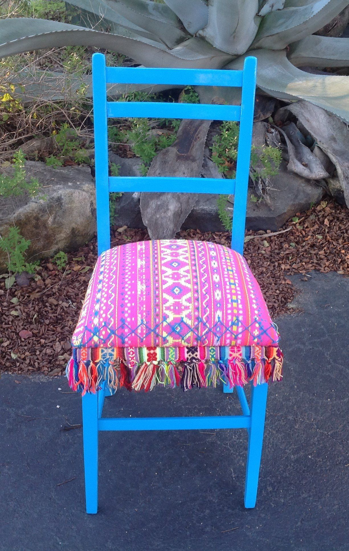 Accent Chair Desk Chair Serape Chair Pink Chair Fiesta Chair