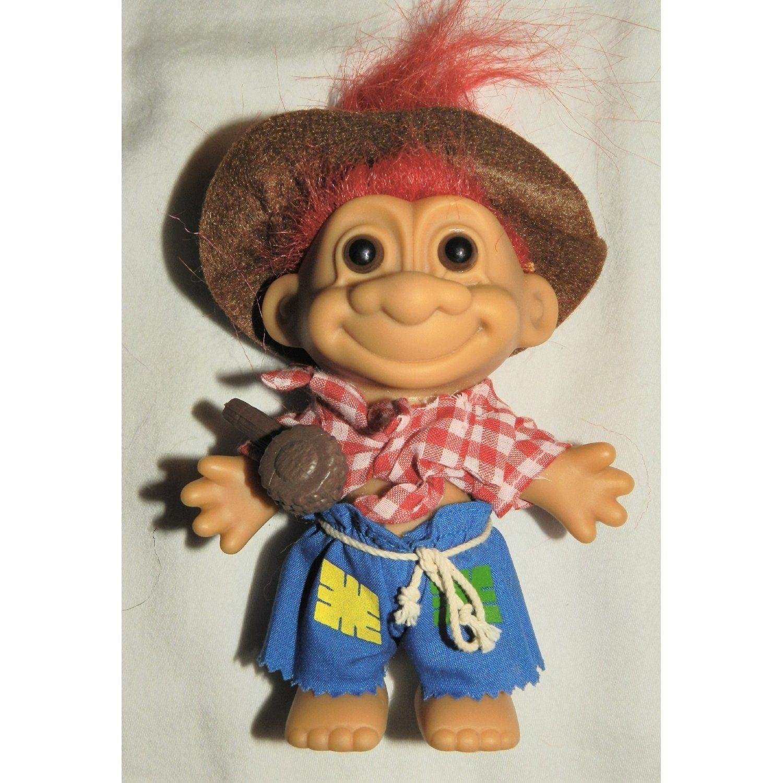 Amazoncom Hillbilly Russ Lucky 6 Inch Troll Doll Figure (Pipe