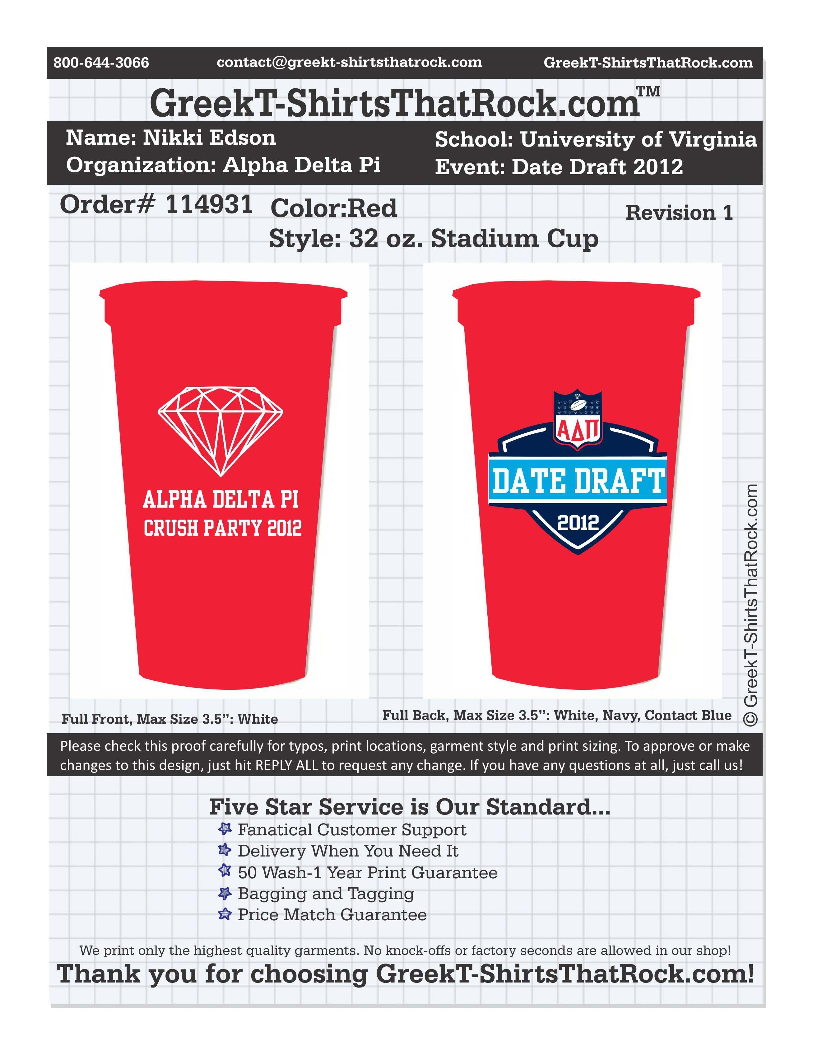 Alpha Delta Pi Crush Party University Of Virginia Adpi Date Draft Greek Tshirts That Rock Alpha Delta Pi Adpi Gphi
