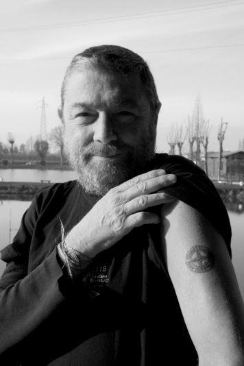 Carlo Rivetti showing off his Stone Island tattoo!   RANDOM ... daf280c465bb