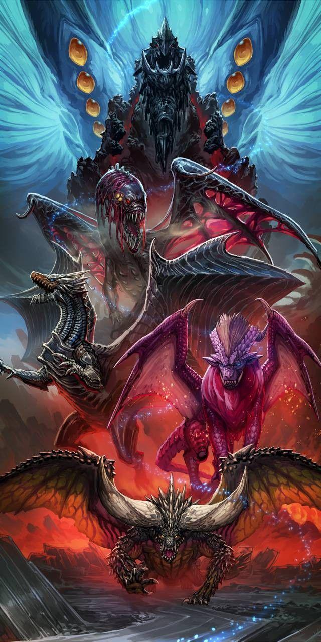 Nergigante Teostra Vaal Hazak Kushala Daora Zorah Magdaros Xeno Jiiva Monster Hunter Series Monster Hunter Monster Hunter World