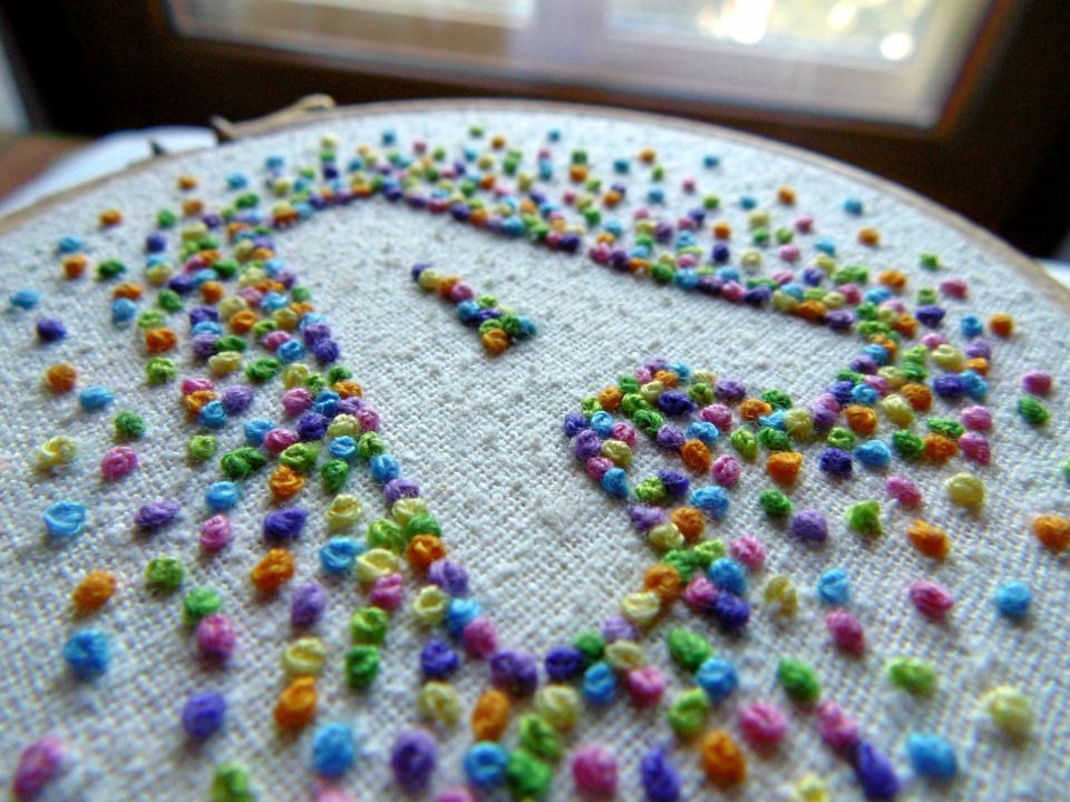 A Project that will Make You Love French Knots | French ...