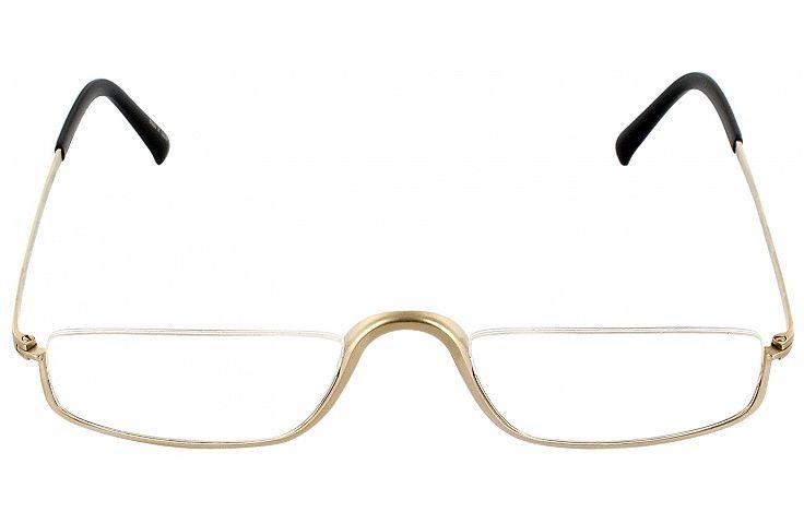 Porsche 8002 Single Vision Half Frame  : Matte Gold #pinglasseswinglasses #readingglasses
