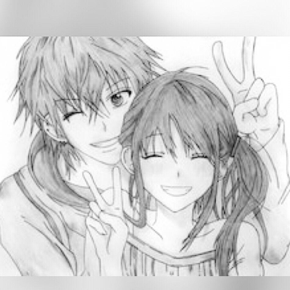 Cute Couple Love Sketch Anime