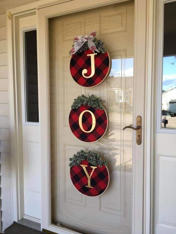 HANTAJANSS DIY Christmas Stockings Plain Burlap Gift Stocking Christmas Gift Bag #diychristmasdecor