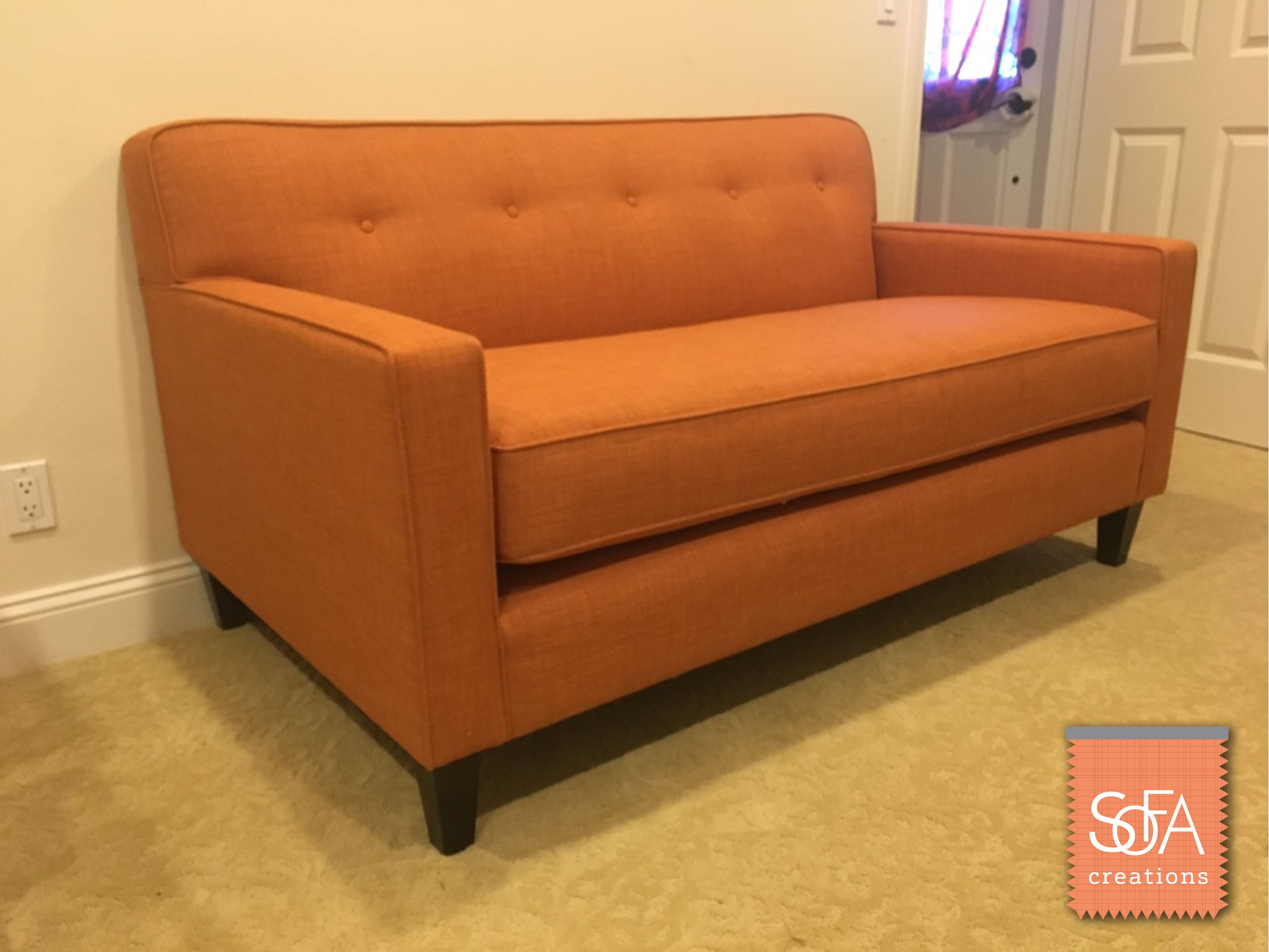 We Recently Delivered A Dante Loveseat To One Of Our Customers At Sofa Creations