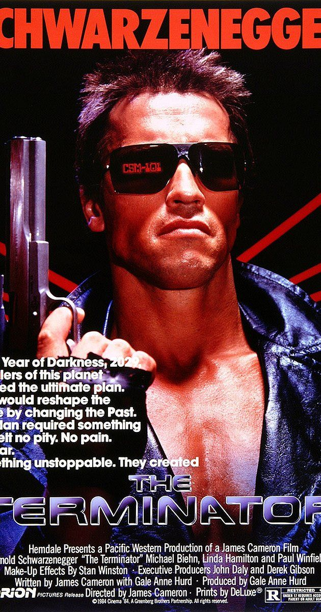 Terminator 1984 With Images Terminator Movies Terminator