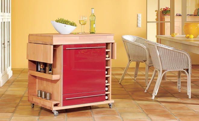 Küchenmöbel selber bauen - küchenmöbel für kleine küchen