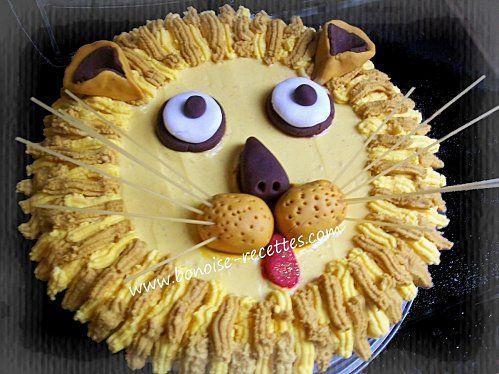 Lion d'or gateau