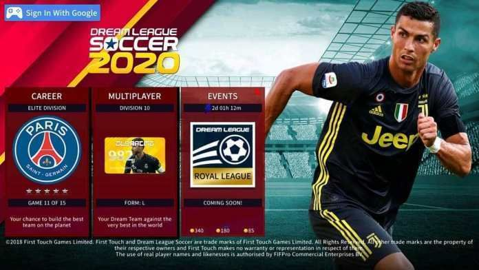 Dream League Soccer 2020 Mod APK + Data Download