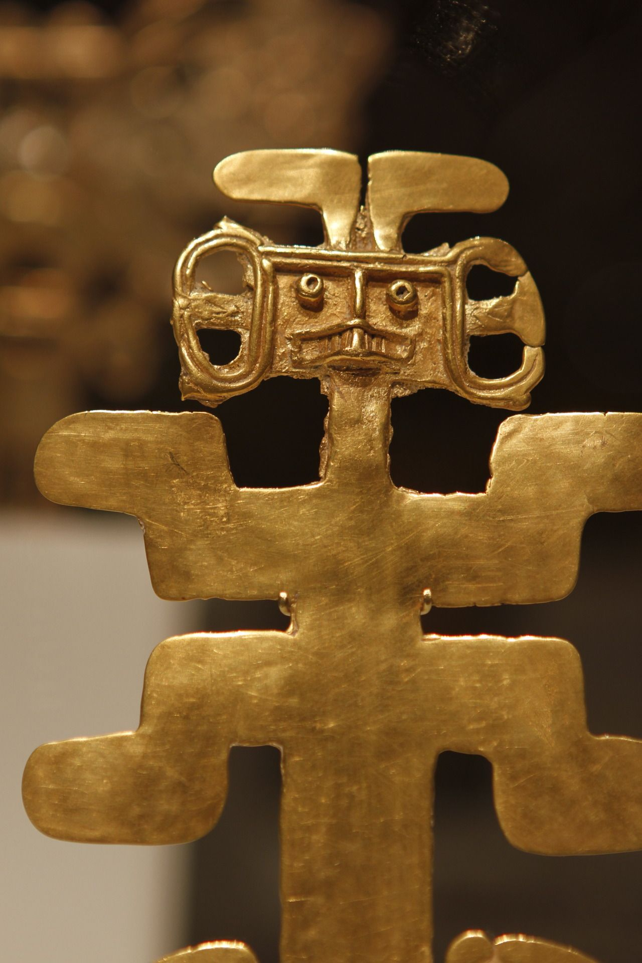 Ancient pre columbian gold figure from the metropolitan museum of ancient pre columbian gold figure from the metropolitan museum of art new york buycottarizona
