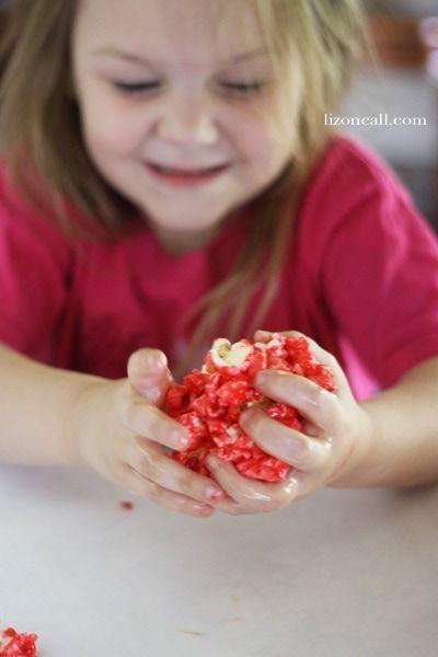 Jello Popcorn Balls #popcornballs