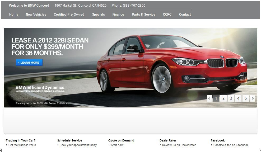 BMW Concord Automobile Services http//www.bmwconcord