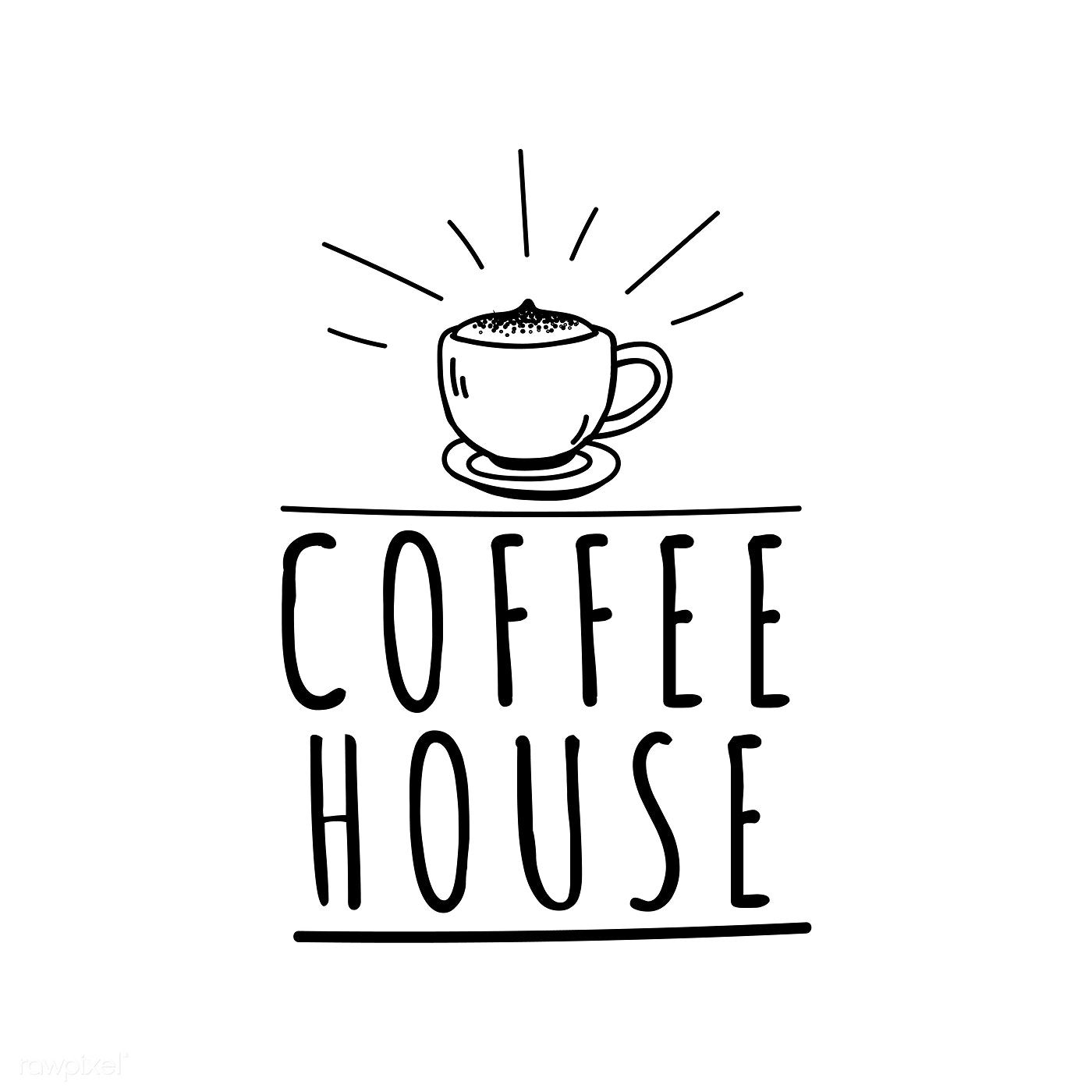 Coffee House Cafe Logo Vector Free Image By Rawpixel Com