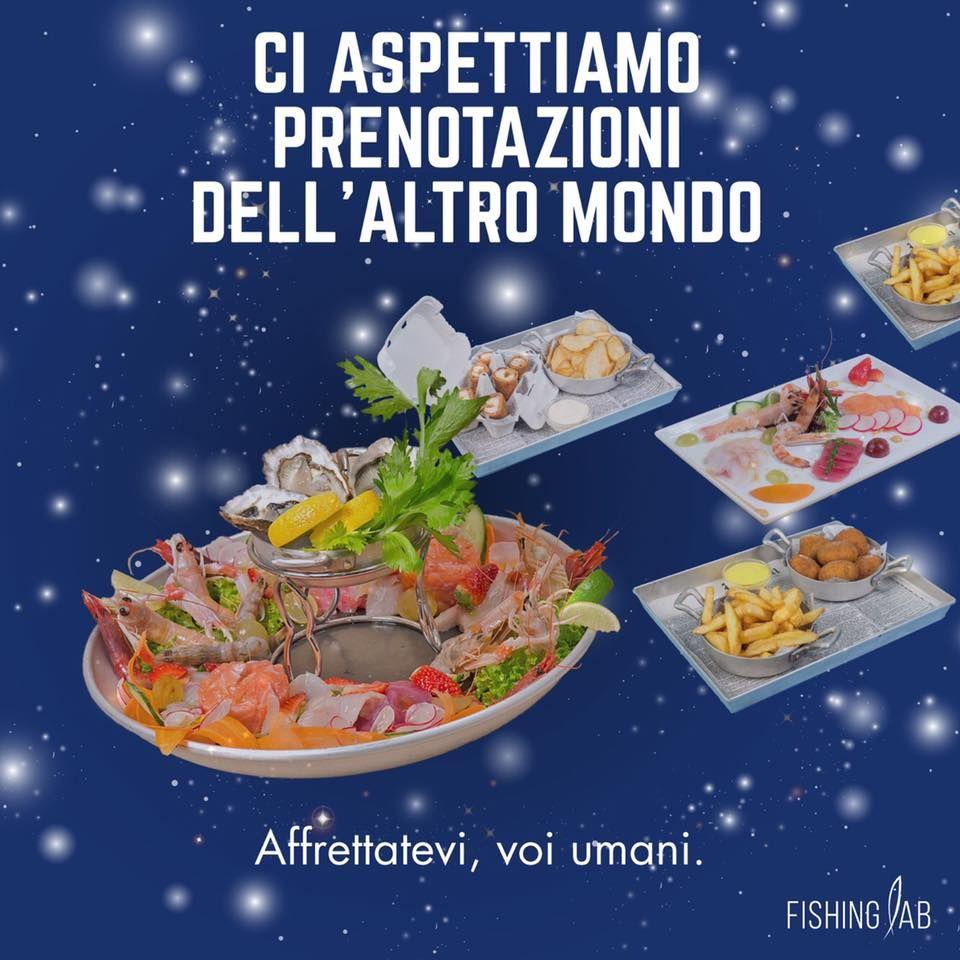 Non siamo soli nell'universo.  Aspettiamo prenotazione extra galattiche. #fishinglab #montecatiniterme #pistoia #prato #foodporn