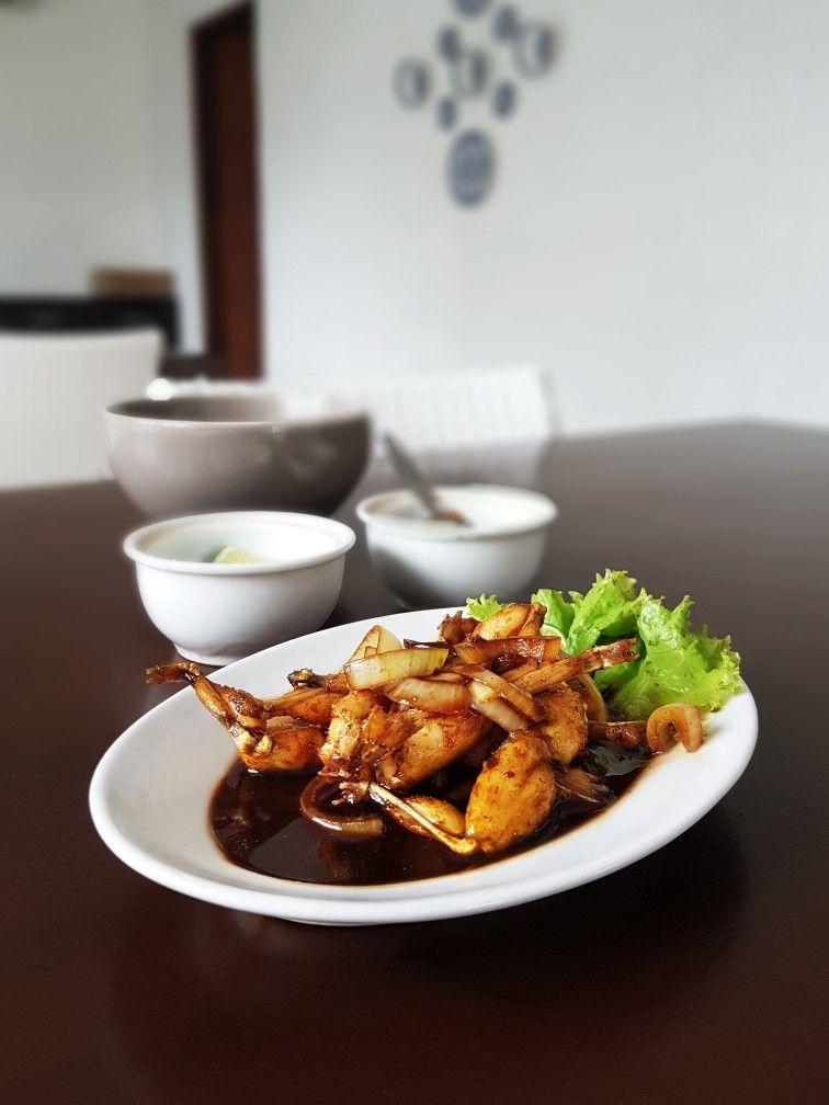 Kodok Goreng Mentega Swike Asli Purwodadi Bu Tatik Jakarta Food Chicken Wings Culinary