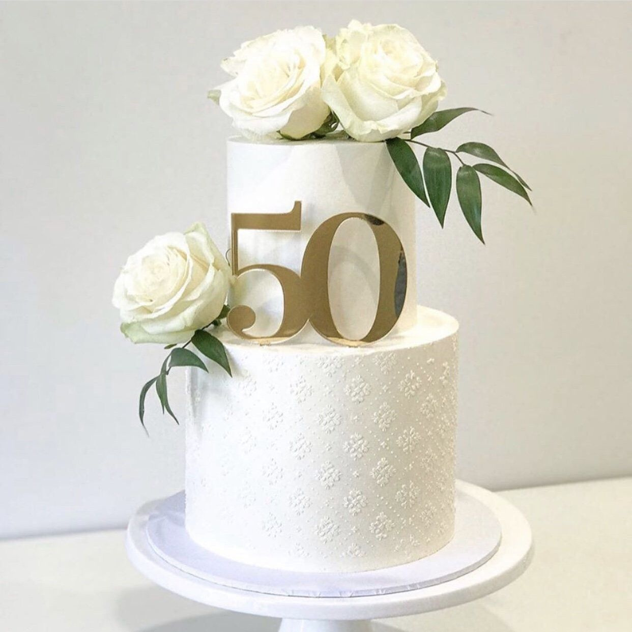 50 fifty cake topper fifty cake decoration 50th birthday