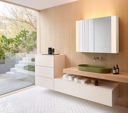 burgbad RL40 Spiegelschrank Badezimmer Pinterest