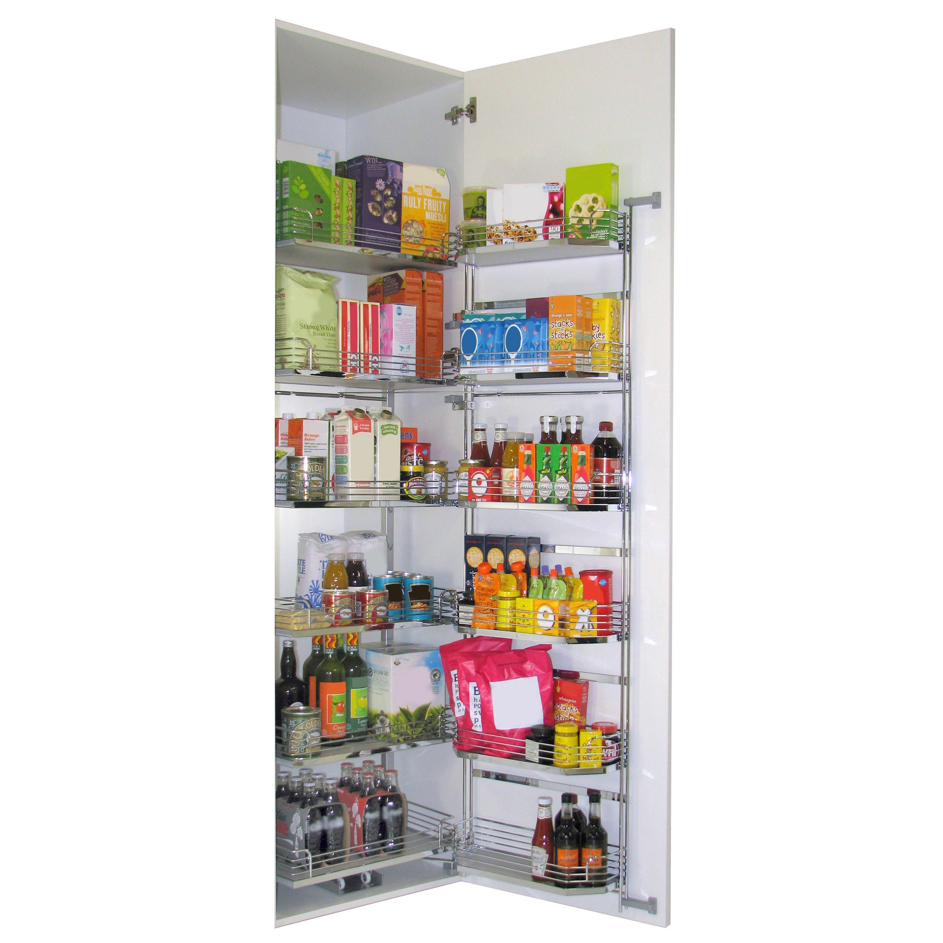 Kitchen Cabinets B And Q: Kesseböhmer Tandem Larder Storage, 600mm