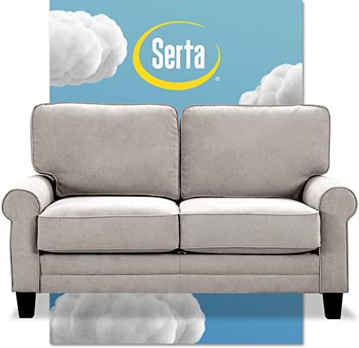 amazon serta copenhagen storage sofas two or three