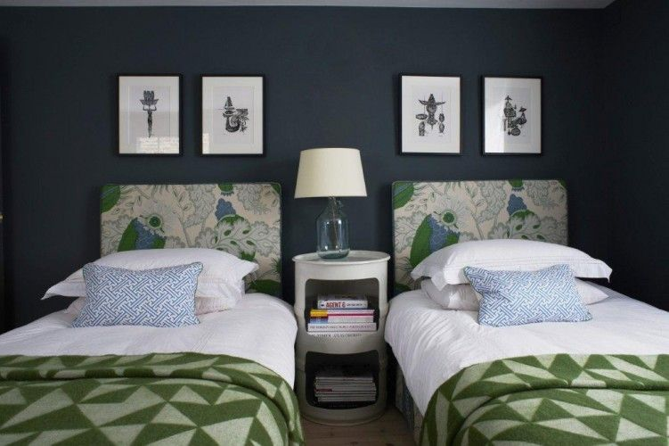 live breathe decor grey and green bedroom single beds | home stuff