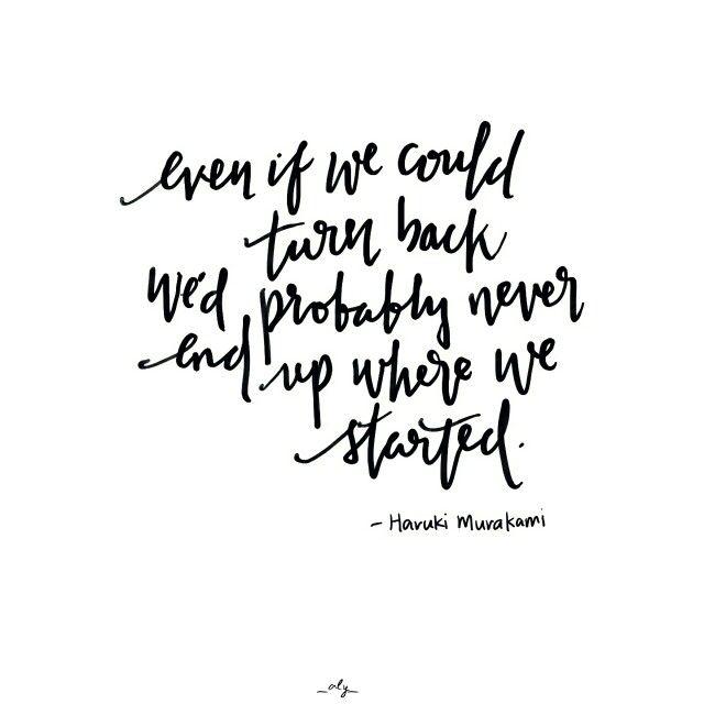 Haruki Murakami Quotes Taurus Quotes Look Up Quotes Love