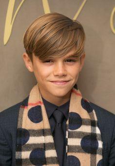 Image Result For Romeo Beckham Haircut Boys Hair Pinterest - David beckham armani hairstyle