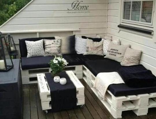 reciclar muebles con palet padrsima opcin para terraza o ara de asador