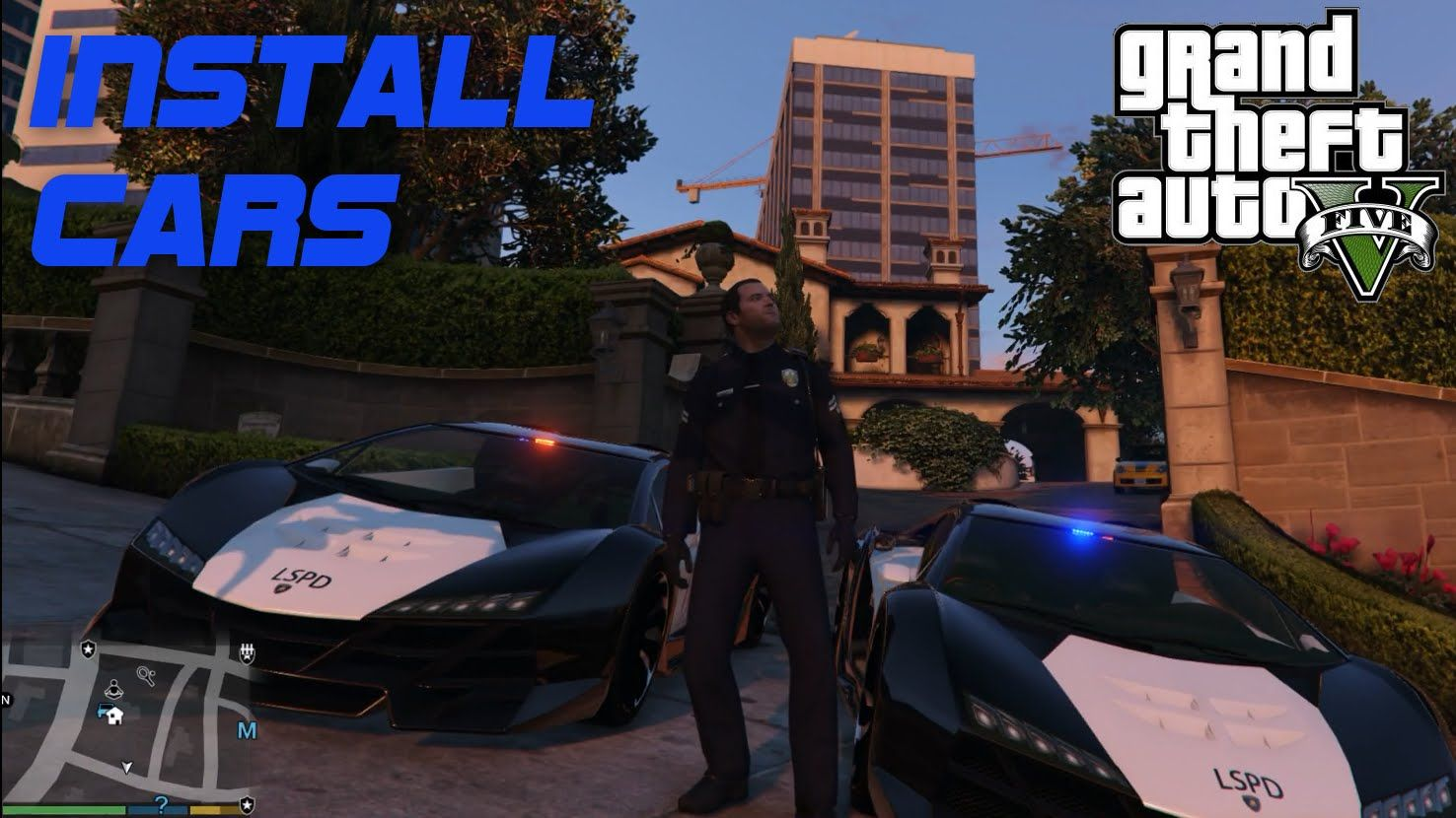 LSPDFR OpenIV tutorial - How to Install Cars, using Mods