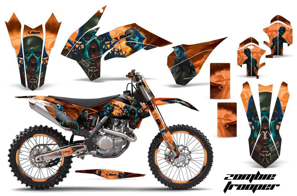 Zombie Trooper Ktm Motocross Graphics Ktm Motocross Ktm Motocross