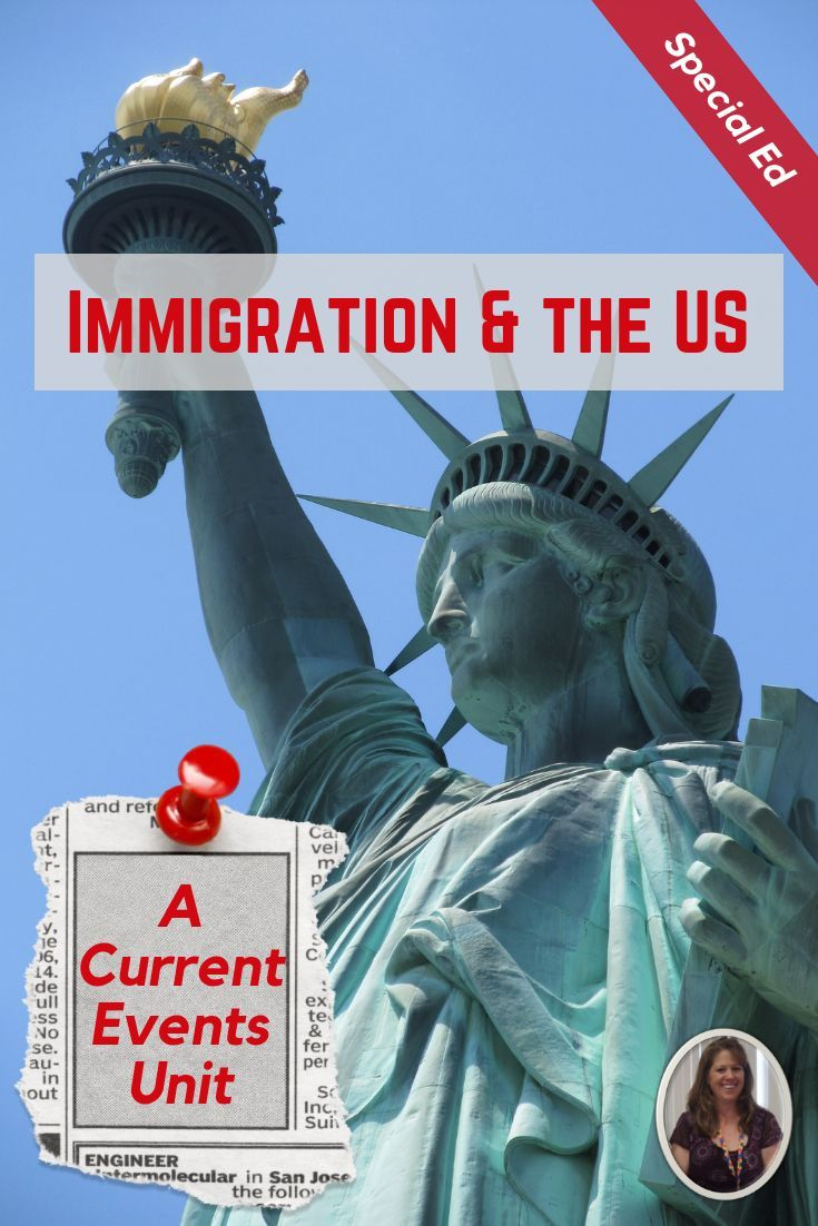 Immigration and the united states current events unit for