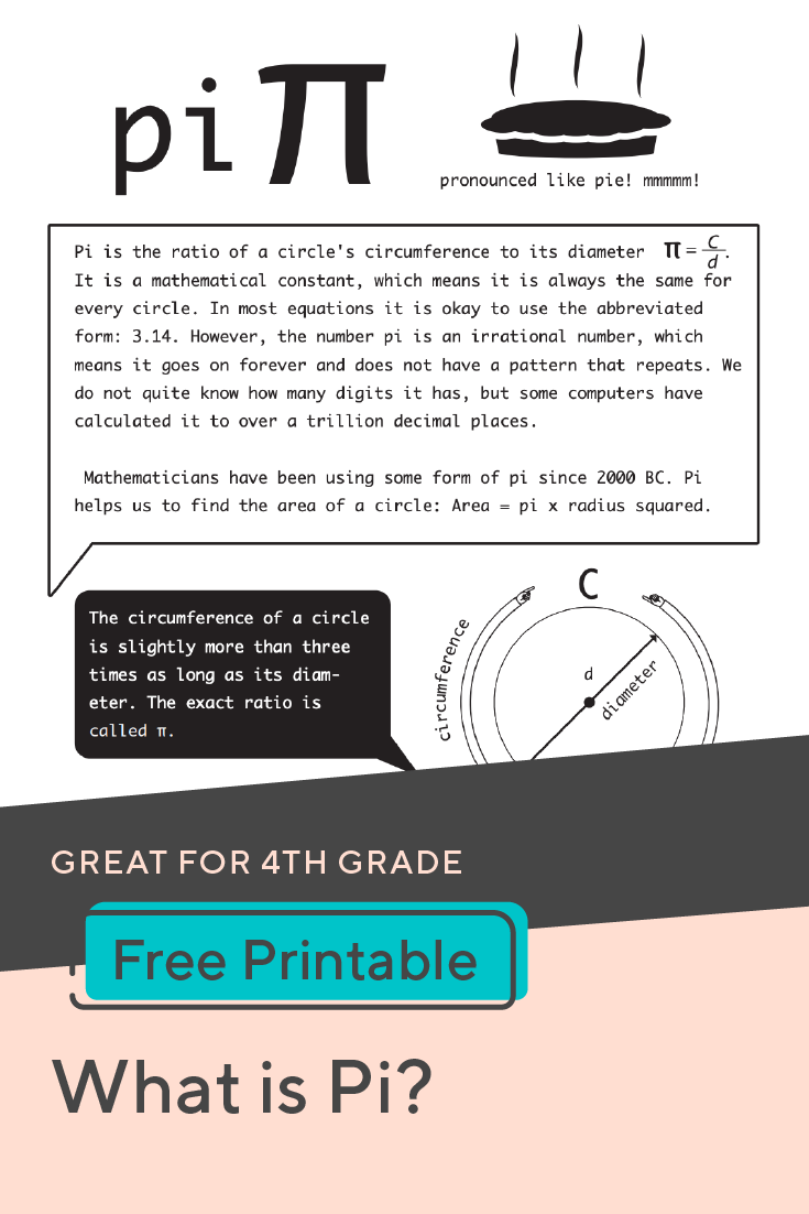 What Is Pi Worksheet Education Com What Is Pi Teacher Favorite Things Math [ 1102 x 735 Pixel ]