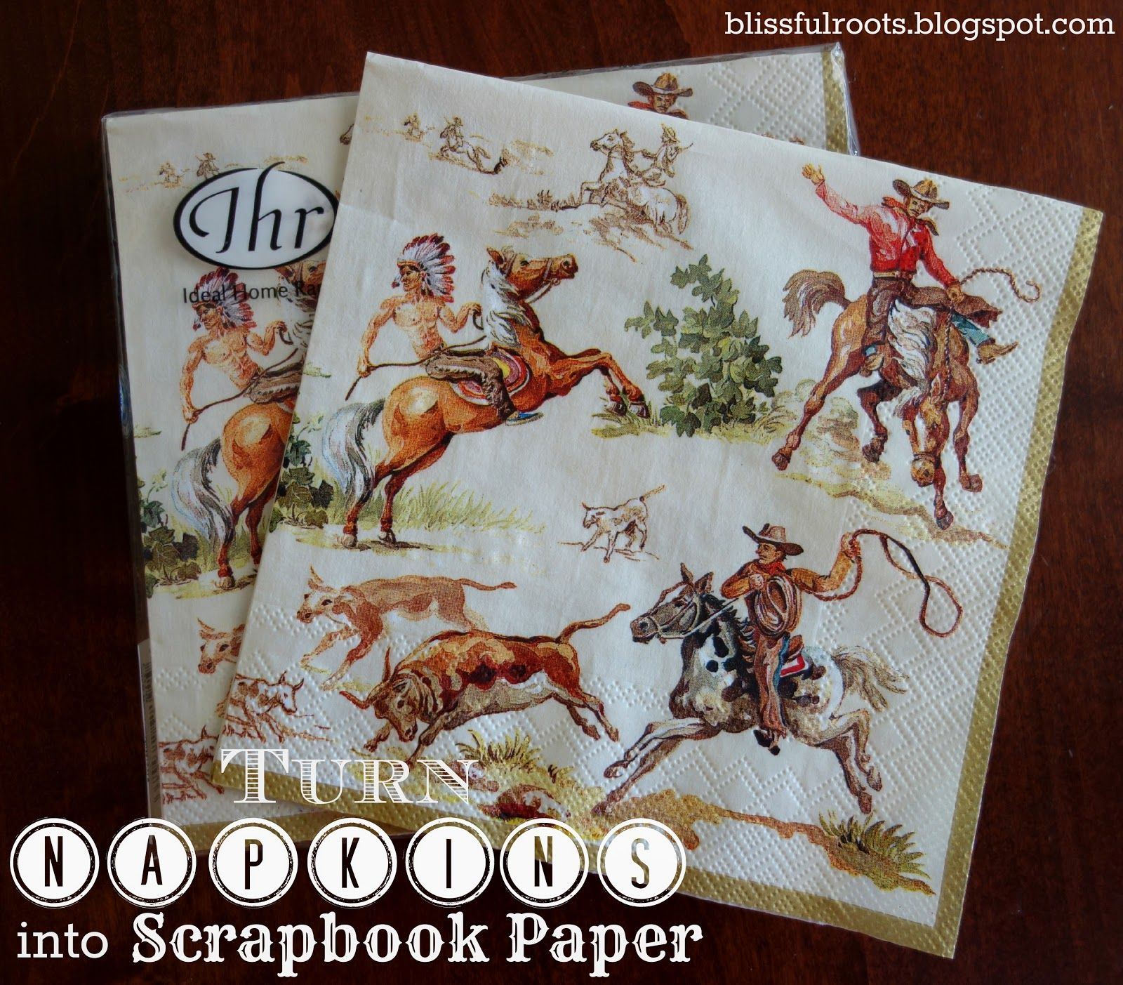 How to turn napkins tissue paper into scrapbook paper crafty how to turn napkins tissue paper into scrapbook paper jeuxipadfo Choice Image
