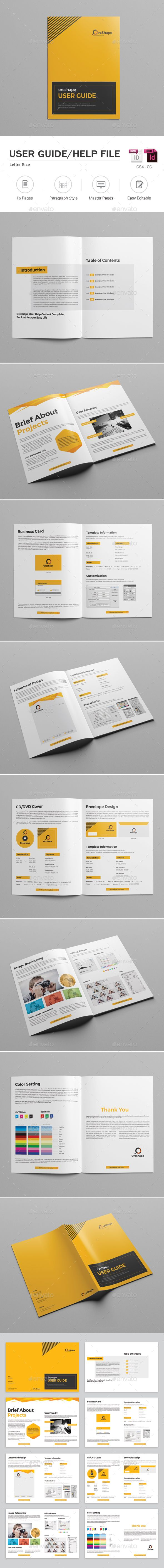 User Guide  Brochure Template Brochures And Template
