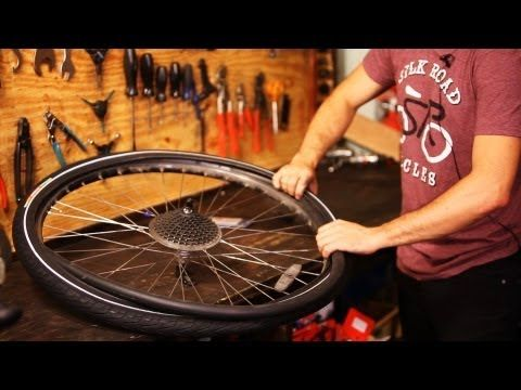 How To Remove Old Bike Tire Tube Bicycle Repair Youtube