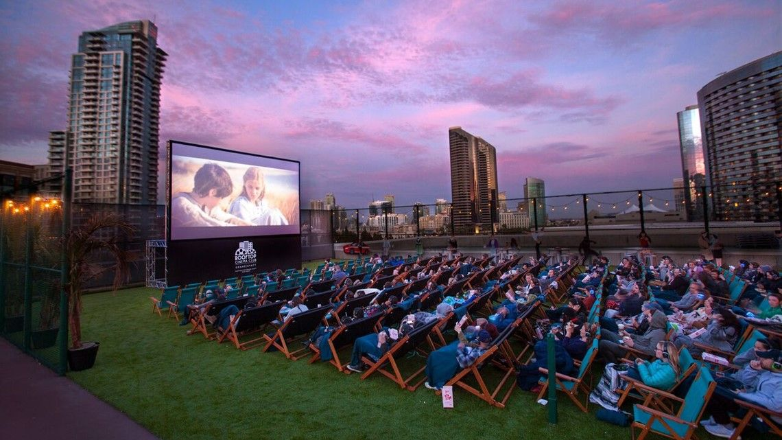 Rooftop movie theater will open soon in HTown Outdoor