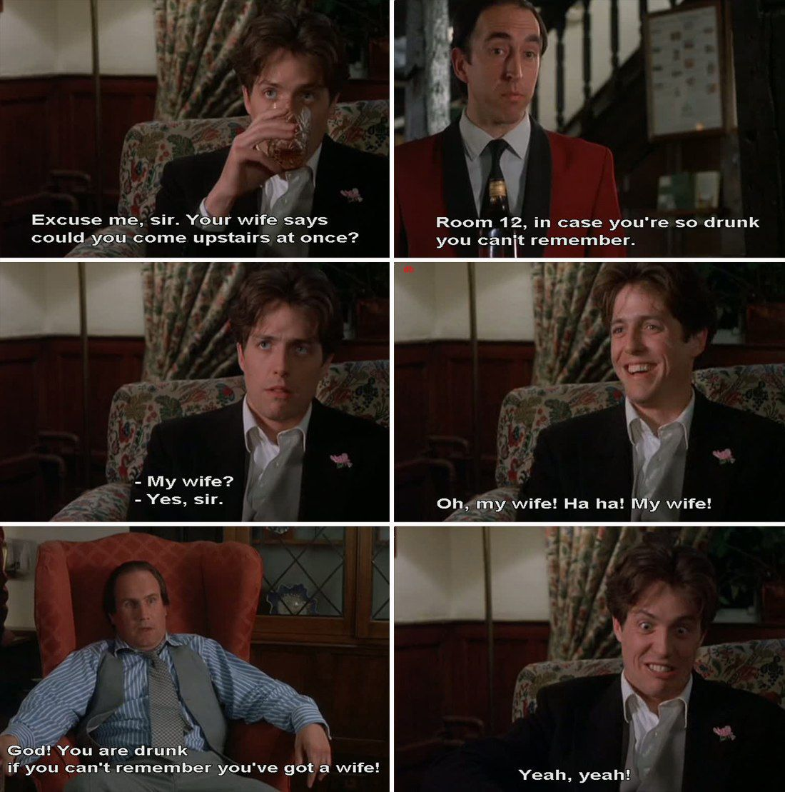 Four Weddings And A Funeral. Romantic comedy, Movies