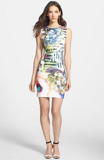 Clover Canyon Fl Maze Neoprene Dress