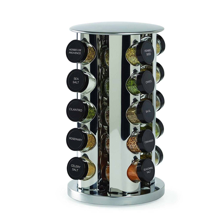 Küche dekorieren ideen von joanna gewinnt revolving spice tower with free spice refills for  years  kitchen