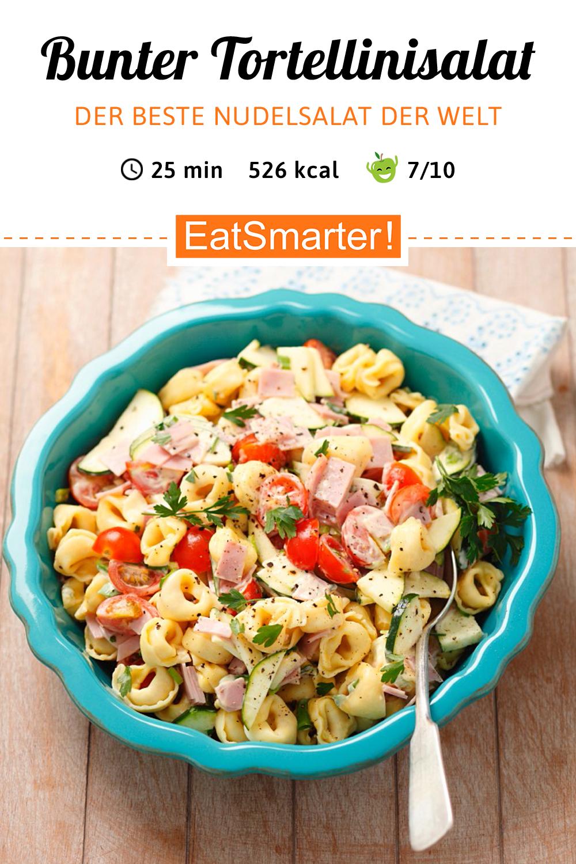 Tortellini-Salat – der BESTE Nudelsalat!