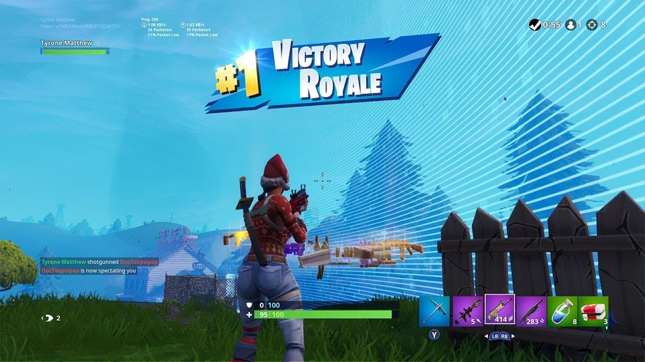 I have Better Aiming than Obey Upshall in Fortnite