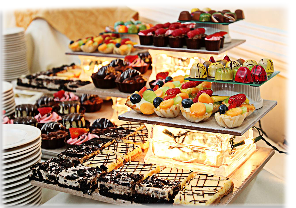 Image result for dessert buffet