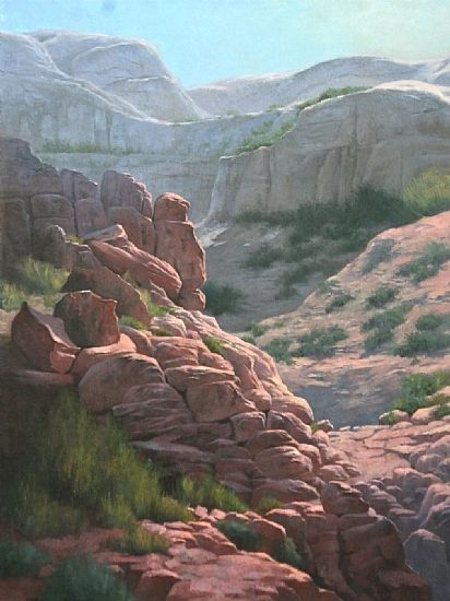 Flavia Eckholm (oil on canvas)