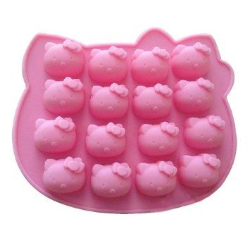 Kitty Cat Silicone Baking Cake Mold Candle Mold Bakeware Hello
