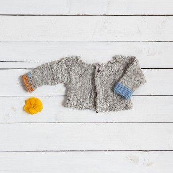 KIT BK7 Chaqueta creta. Colección bebé. KITS & PATRONES | iFil - Tienda Online. Katia Creta.