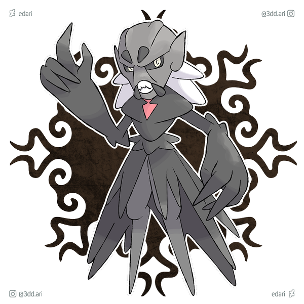 Jeepers Creepers Fakemon By Edari On Deviantart Character Art