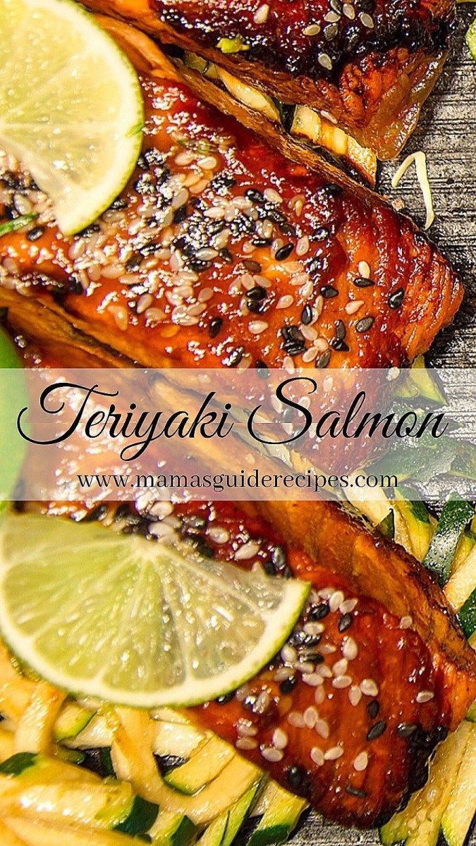 TERIYAKI SALMON #teriyakisalmon TERIYAKI SALMON #teriyakisalmon