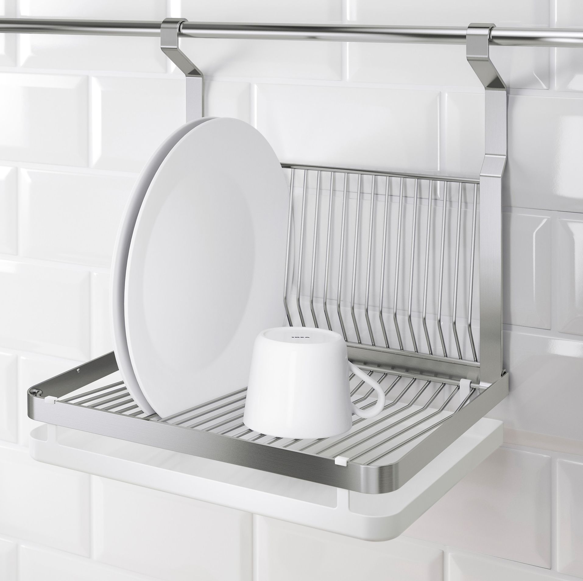 10 Design-y Dish Racks for Your Compact Kitchen | Dish racks, Dish ...